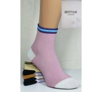 Стрейчевые женские носки ШУГУАН средней высоты Арт.: B2807