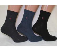 Стрейчевые мужские носки Tommy Hilfiger / 1047 / средней высоты Арт.: 573699-35 / Упаковка 12 пар /