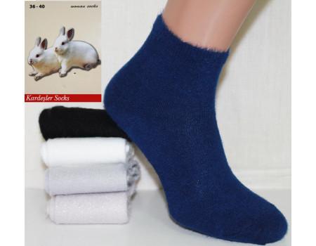 Женские носки из шерсти кролика KARDESLER средней высоты Арт.: 5071 / Упаковка 12 пар /