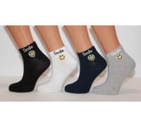 Стрейчевые женские носки ZENGIN средней высоты Арт.: 2282-2 / Smile / Упаковка 12 пар /