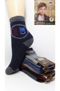 Детские махровые носки из ангоры КОРОНА Арт.: 3531-2