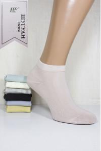 Стрейчевые женские носки в сеточку ШУГУАН короткие Арт.: B2641-1 / Упаковка 12 пар /