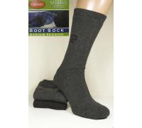 Шерстяные махровые мужские носки BOOT SOCKS Thermo Merino Wool высокие Арт.: CC-2000 / Упаковка 12 пар /
