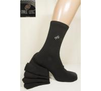 Стрейчевые мужские носки полушерстяные на махровой подошве STYLE LUXE высокие Арт.: 0811 / Упаковка 12 пар /