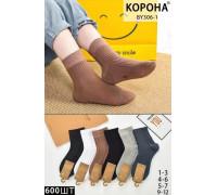 Стрейчевые детские носки КОРОНА средней высоты Арт.: BY306-1