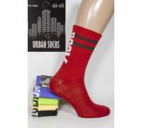Стрейчевые мужские носки для тенниса URBAN Socks высокие Арт.: 1218-3 / BOOM /