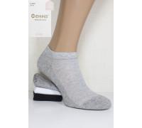 Стрейчевые женские носки в сеточку ФЕННА короткие Арт.: D-B633 / Упаковка 10 пар /