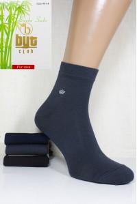 Стрейчевые бамбуковые мужские носки BYT CLUB средней длины Арт.: 1240-36/1 / Упаковка 12 пар /
