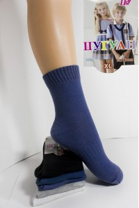 Хлопковые детские носки в сеточку ШУГУАН средней длины Арт.: C3628-1