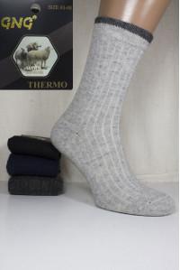 Шерстяные мужские носки GNG Wool Thermo высокие Арт.: 2816 / Упаковка 12 пар /