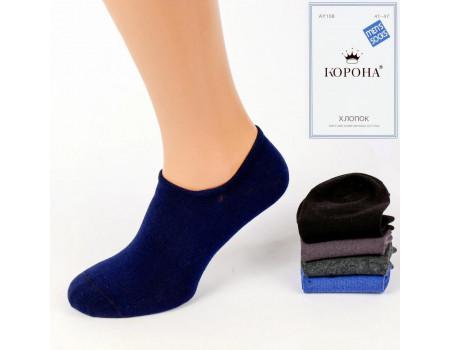 Стрейчевые мужские носки КОРОНА ультракороткие Арт.: AY108-6