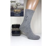 Шерстяные мужские носки GNG Wool Thermo высокие Арт.: 2210 / Упаковка 10 пар /
