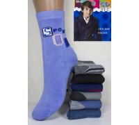 Махровые детские носки BFL высокие Арт: HC05-30 / Упаковка 12 пар /