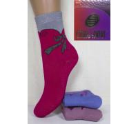Махровые детские носки Стиль Люкс высокие Арт: Д30-048 / Упаковка 12 пар /