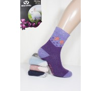 Шерстяные махровые женские носки ВЕСНА-ХОРОША высокие Арт.: 2782 / Упаковка 12 пар /