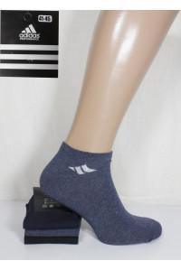 Стрейчевые мужские носки Adidas / 1295 / укороченные Арт.: 324699-295 / Упаковка 12 пар /