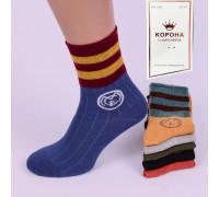 Стрейчевые женские носки КОРОНА высокие Арт.: BY202-1