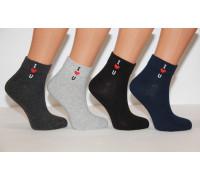 Стрейчевые женские носки ZENGIN средней высоты Арт.: 2282-1 / I love You / Упаковка 12 пар /
