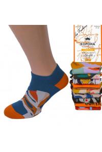 Стрейчевые женские носки КОРОНА короткие Арт.: BY253-4