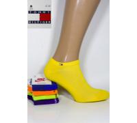 Стрейчевые мужские носки в сеточку TOMMY HILFIGER / 0039US / укороченные Арт.: 574698-49