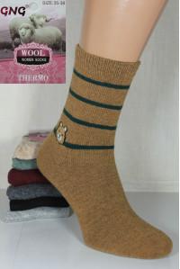 Шерстяные женские носки из ангоры GNG высокие Арт.: 3029