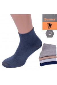 Стрейчевые подростковые носки Фенна средней высоты Арт.: ZC 30 / Упаковка 10 пар /