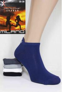 Женские носки из микрофибры MILANO Sports Microfiber короткие Арт.: 53012 / Упаковка 12 пар /