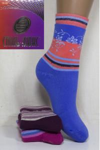 Махровые детские носки Стиль Люкс высокие Арт: Д30-047 / Упаковка 12 пар /