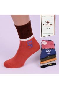 Стрейчевые женские носки КОРОНА высокие Арт.: BY202-2