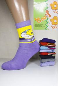 Подростковые махровые носки BFL Goo высокие Арт: N011 / Упаковка 12 пар /