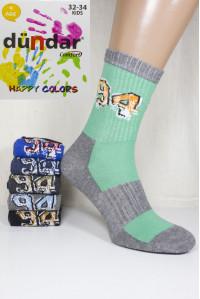 Стрейчевые компьютерные детские носки DUNDAR высокие Арт.: 5817-23 / 94 / Упаковка 12 пар /