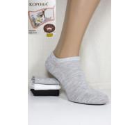 Стрейчевые женские носки КОРОНА укороченные Арт.: B2318 / Ассорти цветов /