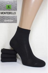 Стрейчевые женские носки MONTEBELLO Ф3 средней длины Арт: 7422CD / Упаковка 12 пар /