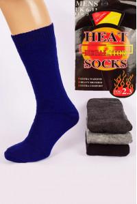 Акриловые махровые мужские носки HEAT SOCKS Regalator высокие Арт.: 6145 / Упаковка 6 пар /