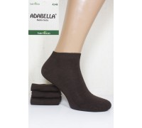 Стрейчевые бамбуковые мужские носки ADABELLA Socks короткие Арт.: 4332 / Упаковка 12 пар /