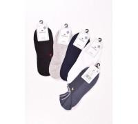Стрейчевые мужские носки в сеточку КОРОНА ультракороткие Арт.: AY108-8