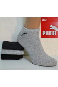 Стрейчевые мужские носки Puma / 1295 / укороченные Арт.: 074699-295 / Упаковка 12 пар /