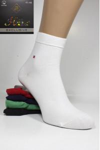 Стрейчевые мужские носки HAZA средней высоты Арт.: 9318-1 / Tommy Hilfiger /