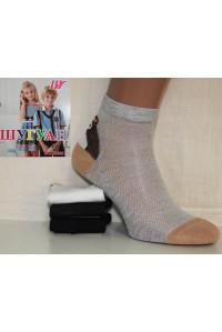 Хлопковые детские носки в сеточку ШУГУАН средней длины Арт.: C3628