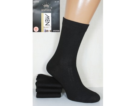 Стрейчевые мужские носки КОРОНА высокие Арт.: A1048