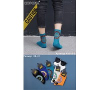 Стрейчевые мужские носки КОРОНА средней высоты Арт.: AY119-3 / Cross Colors /