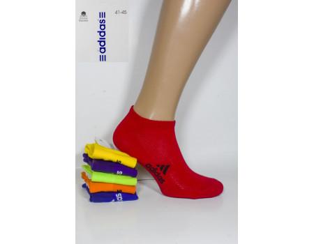 Стрейчевые мужские носки в сеточку ADIDAS / 0039US / укороченные Арт.: 324698-49
