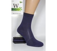 Бамбуковые мужские носки WARMEN Bambu Socks средней высоты Арт.: 1219
