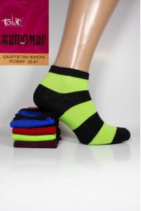 Стрейчевые женские носки ЖИТОМИР Талько средней длины Арт.: 2311L-3 / Толстая полоска /