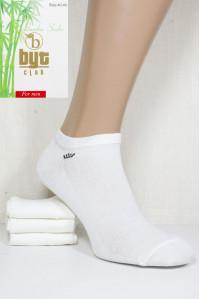 Стрейчевые бамбуковые мужские носки в сеточку BYT CLUB короткие Арт.: 1240-46YC