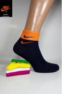 Стрейчевые женские носки NIKE средней длины Арт.: 683698-384 / Яркое ассорти /