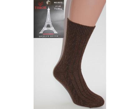 Мужские шерстяные носки РОЗА THROB высокие Арт.: 9313