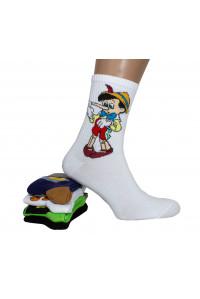 Стрейчевые компьютерные мужские носки KARDESLER высокие Арт.: 1307-7 / Упаковка 12 пар /