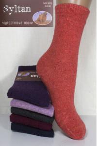 Шерстяные подростковые носки SYLTAN высокие Арт.: 3871 / Упаковка 12 пар /