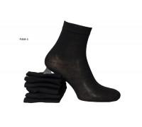 Стрейчевые мужсике носки Чайка средней высоты Арт.: А359-5 / Черные/